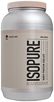 Isopure Zero Carb Protein Powder, Whey Protein Isolate, Keto Friendly, Unflavored, 3 Pounds (Packaging May Vary) 0