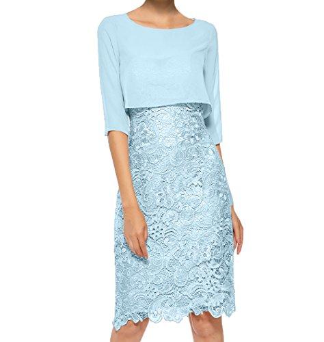 Promkleider Himmel Attraktive Partykleider Abendkleider Blau Etuikleider Damen Knielang Neu Charmant Brautmutterkleider 2018 q6a8SApwT