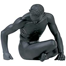 StealStreet 5.25-Inch Male Nude Figure Seated Twisted Torso Display Decor