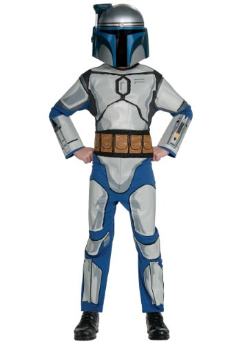 Star Wars Child's Jango Fett Costume, Large
