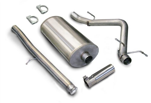s Steel Single Side Exit Cat-Back Exhaust System Kit ()