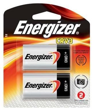 Energizer-Eveready 04288 - ELCRV3BP2 3 Volt Lithium e2 Photo / Camera Battery 2 Pack (ELCRV3BP2) ()