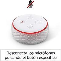 Amazon Echo Dot (3.ª generación) tela de color gris claro + Amazon Music Unlimited (6 meses GRATIS con renovación automática): Amazon.es