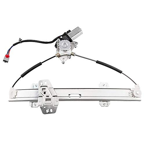 Front Left Driver Side Power Window Lift Regulator with Motor Assembly Compatible for 1996-2000 Honda - 00 Door 4 Civic Honda