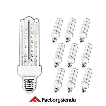 Diluxe LED - Pack X10 Bombillas LED 4U, 20W,(equivalente a 200W)