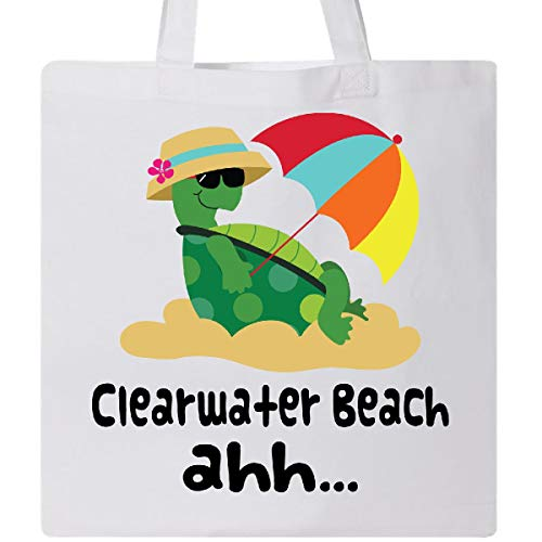 Inktastic - Clearwater Beach Florida Tote Bag White 11507 ()