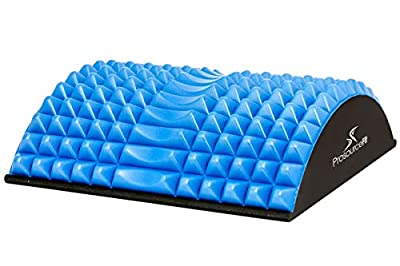 Prosource Fit Arched Back Stretching Spike Orthopedic Traction Device & Lower Lumbar Massage Support