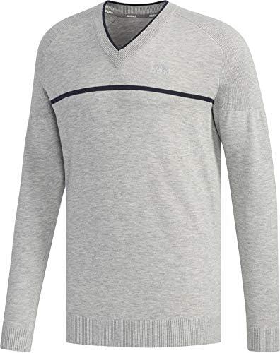 長袖セーター チェストラインド Vネック長袖セーター メンズ FYO86