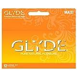 GLYDE MAXI Premium Ultra Thin Large Condom - 36 Count / Sensitive & Strong : The #1 Natural Condom in Australia