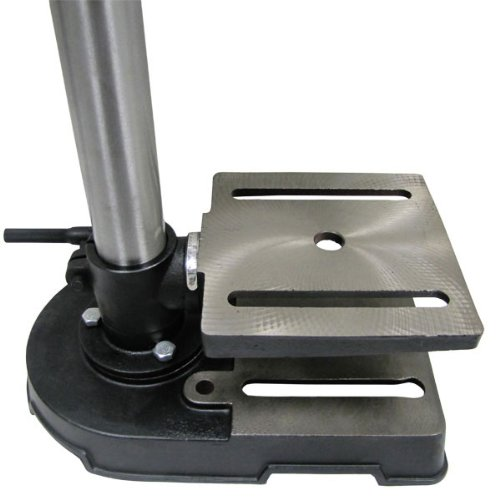 Mini Drill Press 5 Speed Adjustable Work Bench Drill Press with Tilting Table by EZ Travel Collection (Image #4)