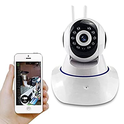 Mini Baby Monitor, Longtian 1280*720p HD Wireless WIFI IP Surveillance Security Pan Camera with Two-Way Audio Chatting Baby Care Camera and Infrared Night Vision by Longtian that we recomend individually.