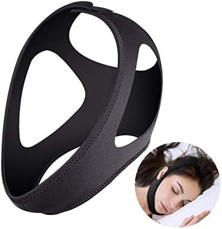 顎のストラップは、男性と女性の救済のためのいびき止めを防止するアンチSnoringソリューションナチュラルスリープと調節可能なバンドで眠るストレス