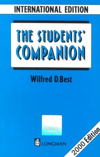 Students Companion Wilfred Best 1991 06 17 product image