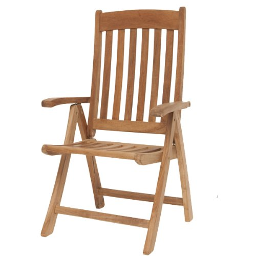 Amazonia Teak Belfast Teak Position Chair by Amazonia