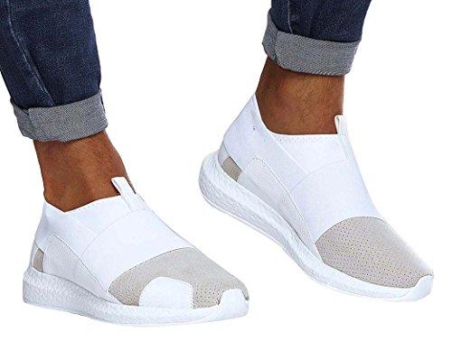 LN151 Bianco LEIF uomo Sneaker NELSON Uq5nUwSB