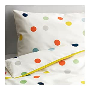 """IKEA Crib Bedding DROMLAND Duvet Cover Set Includes One Duvet Cover and One Pillow Case """""""