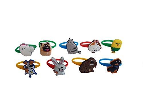 [AVIRGO 9 pcs Colorful Releasable Ponytail Holder Elastic Rubber Stretchable No-slip Hair Tie Set # 118 -] (C Viper Costumes)