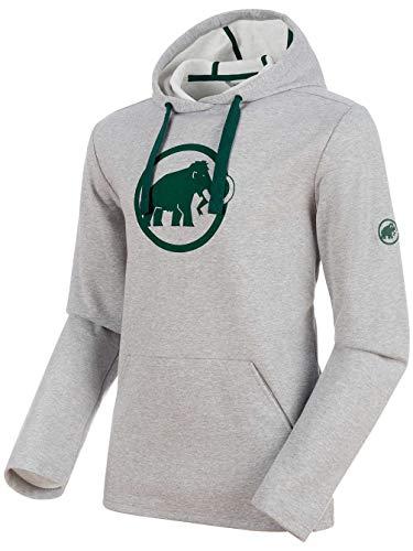 Mammut 1014-01381 Men's Logo ML Hoody, Stone Grey Melange - L from Mammut