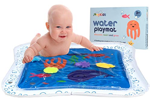 JoeyKids Deluxe Inflatable Baby Water Mat, Water Play Mat for Children and Infants