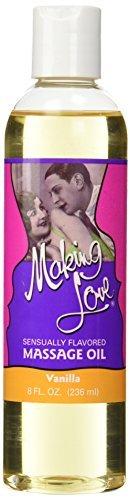 Making Love Massage Oil - 8 oz Vanilla by New Product Development (Making Love Massage Oil)