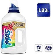 MAS Detergente Líquido para Ropa de Color, 1.83 l