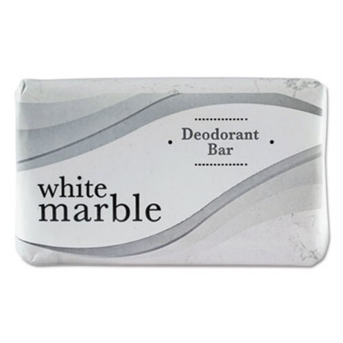 White Marble Guest Amenities Deodorant Soap