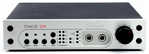 Benchmark DAC2 DX Digital to Analog Converter with Remote Control, Silver