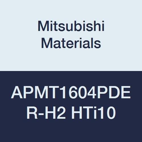 Grade HTI10 0.187 Thick Mitsubishi Materials APMT1604PDER-H2 HTi10 Uncoated Carbide Milling Insert Pack of 10 0.031 Corner Radius Parallelogram 85/° Sharp Honing Class G