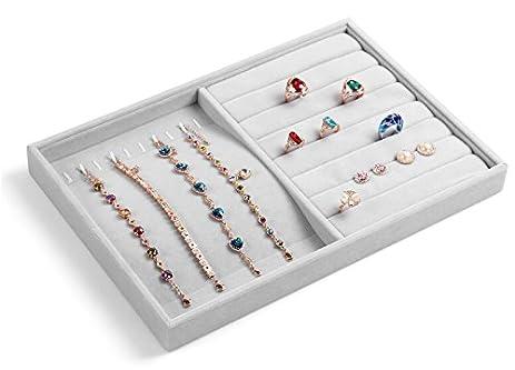 Amazoncom New Wayzon Multifunction Jewelry Storage Organizer