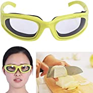 YUTALOW Onion Goggles,Tearless Glasses Barbecue Goggles,Protect Eyes Cut Onion Glasses Tools Kitchen Gadgets-P