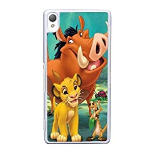Sony Xperia Z3 Cell Phone Case White Lion King AS7YD3585310