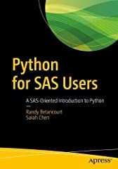 Business users familiar with Base SAS programming can now learn Python by example. You will learn via examples that map SAS programming constructs and coding patterns into their Python equivalents. Your primary focus will be on pandas and dat...