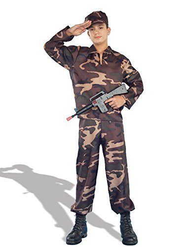 Teen Army Soldier Costume - Teen Boys (up to chest size 40)