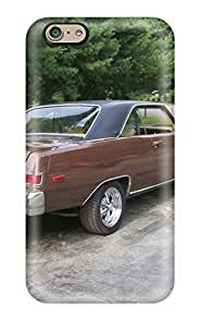 Fashionable Style Case Cover Skin For Iphone 6- Dodge Dart Brown
