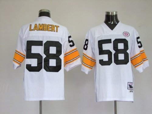 release date: 02b0e 6c382 Amazon.com: Jack Lambert #58 Pittsburgh Steelers Replica ...