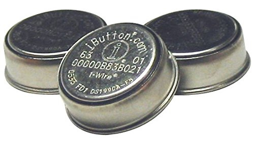 DS1994L-F5+ - 4kb Plus Time Memory iButton, 2 Pack
