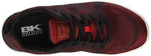 British Knights Herren Energy Sneakers Rot (Dk Red - Blk 01)