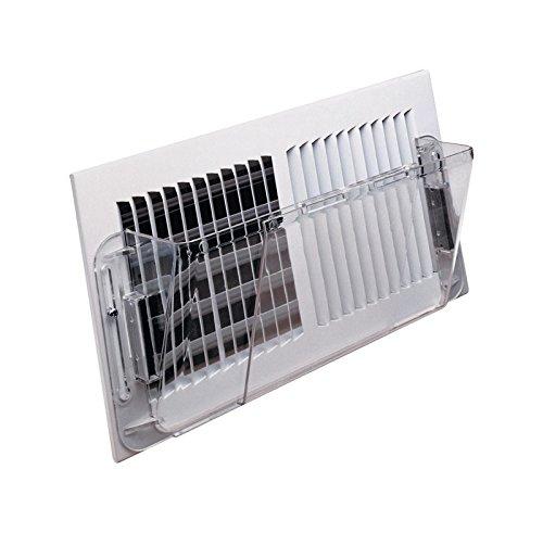 Deflect-O Air Deflector Magnetic 10 '' - 16 '' Clear Box by Jordan Industries Llc
