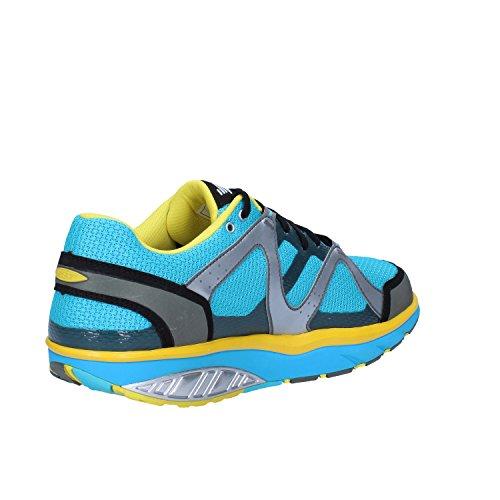 MBT Sneakers Hombre 42 EU Azul Amarillo Textil