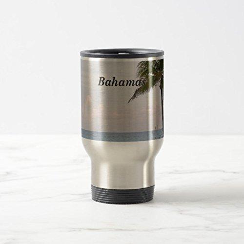 Feddiy Tumbler-Stainless Steel Travel Mug,14 oz Funny Coffee Mug-The Bahamas Stainless Steel 14 oz