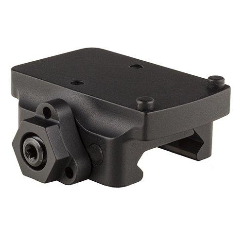 Trijicon AC32077 RMR Pistol Mount, Low Weaver Quick Release, Black
