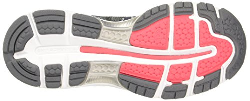 Chaussure running Femme Gel Nimbus 19 - Carbon/Rouge Red/White