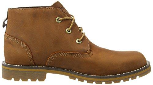 Timberland Larchmont FTM_Larchmont WP Chukka - botas chukka de cuero hombre marrón - Braun (Medium Brown)
