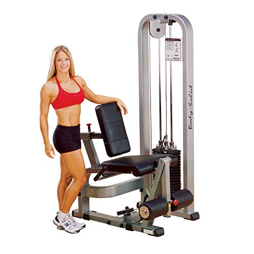 Body-Solid ProClubLine Leg Extension Machine with 210-Pound Weight Stack SLE200G2