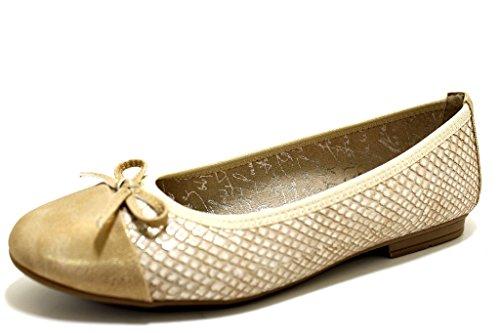 Jana 8-8-22108-20-932 - Bailarinas Para Mujer dorado