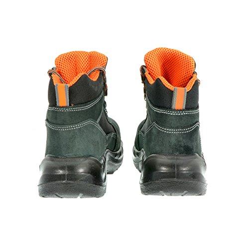 Chaussure De Securite Haute N. 44 - Travail De Securite Des Chaussures De Trekking S1p