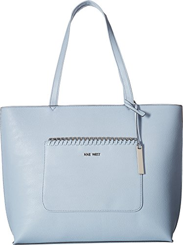 Nine West Women's Tangled Up Tote Powder Blue One Size
