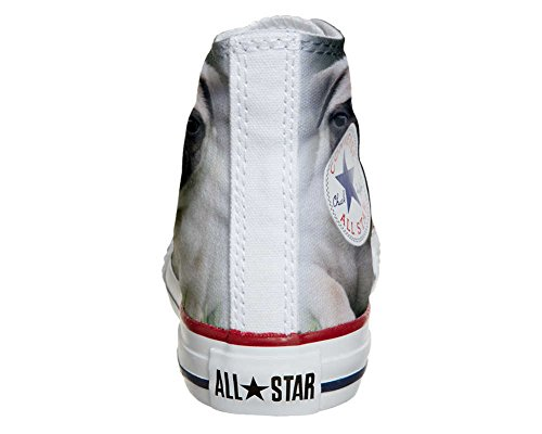 Converse All Star Hi chaussures coutume mixte adulte (produit artisanal) Carlino