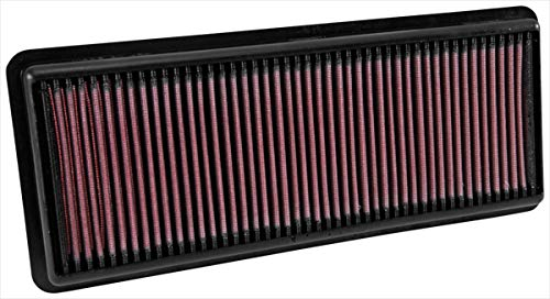 K&N engine air filter, washable and reusable:  2015-2019 Mazda/Fiat L4 (MX-5 Miata, Mx-5, MX-5 IV, Roadster, 124 Spider) 33-5040