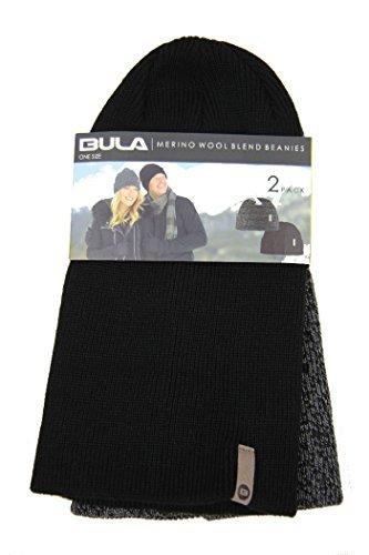 fad2f204f22cbb Bula Merino Wool Blend Beanies Two Pack